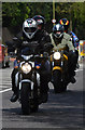 TQ7912 : Bikers arriving in Hastings by Julian P Guffogg