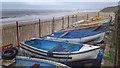 NZ3474 : Boat Compound by Mick Garratt