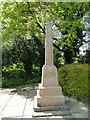 TF9012 : The War Memorial in Little Fransham churchyard by Adrian S Pye