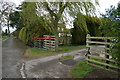 SE7643 : Entrance to South Farm, East Common by Ian S