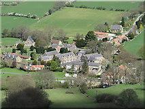 SE7296 : The village of Rosedale Abbey by Pauline E