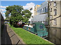 TQ2482 : Ellesmere - narrowboat on Paddington Arm, Grand Union Canal by David Hawgood