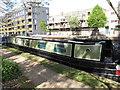 TQ2581 : Yggdrasil - narrowboat on Paddington Arm, Grand Union Canal by David Hawgood