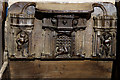 SO8286 : St Mary's Church, Enville - misericord (1) by Mike Searle
