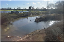 SP2191 : River Blythe and River Cole join by N Chadwick
