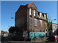 TQ3278 : Disused building on the corner of Occupation Road by Stephen Craven