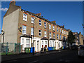TQ3278 : Houses on the east side of Penton Place, Walworth by Stephen Craven