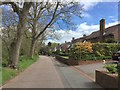 SJ8445 : Newcastle-under-Lyme: houses on Priory Road by Jonathan Hutchins