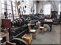 SK2625 : Claymills Victorian pumping Station - workshop by Chris Allen