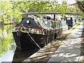 TQ2581 : Duke - narrowboat on Paddington Arm, Grand Union Canal by David Hawgood