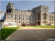 SU9777 : Quadrangle and State Apartments, Windsor Castle by David Dixon