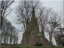 SD1779 : Winter trees at St George, Millom by Basher Eyre