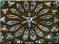 TQ1906 : Lancing College Chapel - Rose Window detail by Rob Farrow