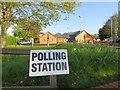 SU5886 : Polling Station by Bill Nicholls