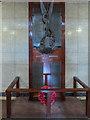 TQ3088 : War Memorial, Hornsey Town Hall, London N8 by Christine Matthews