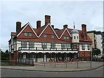 TQ4380 : Gallions Hotel, near North Woolwich by Chris Whippet