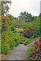 V9354 : Garnish Island: in Italian Gardens, 1993 by Ben Brooksbank