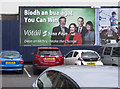 J3271 : Election poster, Belfast by Rossographer