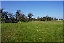 TL8162 : Cricket ground in Ickworth Park by Bill Boaden