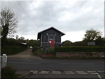 TM3569 : Peasenhall Polling Station by Geographer