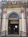 SO8554 : Worcester's Guildhall entrance by Philip Halling