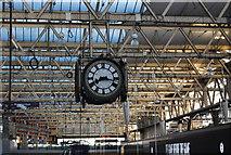 TQ3179 : Clock, Waterloo Station by N Chadwick