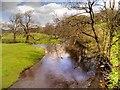 SD7152 : River Hodder at Slaidburn by David Dixon