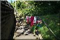SE1315 : Flytipping off Victoria Road, Huddersfield by Ian S
