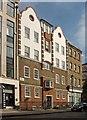 TQ2981 : Block of flats. Foley Street, Marylebone, London, W1 by Julian Osley