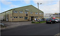 ST9273 : Wiltshire College G Block, Chippenham by Jaggery