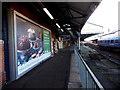 SU1330 : JCDecaux advert for Waitrose at Salisbury railway station by Jaggery