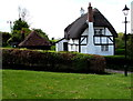 SU2526 : Thatched black & white house in West Dean by Jaggery