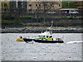 NS2487 : Police boat in the Gareloch by Thomas Nugent
