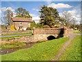 SD7844 : Downham, Bridge over Downham Beck by David Dixon