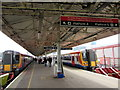 SU6200 : Platforms 4 and 5 at Portsmouth Harbour railway station by Jaggery