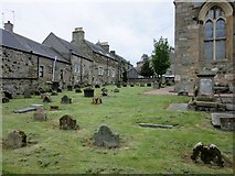 NT1382 : Graveyard at St. Peter's Parish Church, Inverkeithing by Euan Nelson