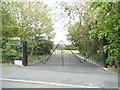 SO9293 : School Gates by Gordon Griffiths