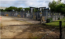 ST9273 : Large electricity substation in Chippenham by Jaggery