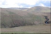 NN6914 : Auchnashelloch Hill, Beinn nan Eun and Beinn Odhar by Richard Webb