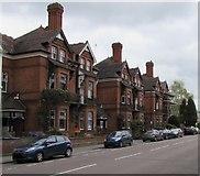 SP3265 : Priory Terrace houses, Royal Leamington Spa by Jaggery