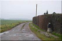 TG0604 : Track to Brickkiln Grove by N Chadwick