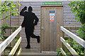 SD4773 : Eric Morecambe Hide, RSPB Leighton Moss by Pauline E