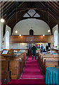 SK9892 : Interior, St Peter's church, Bishop Norton by Julian P Guffogg