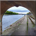 SK5737 : Victoria Embankment and the River Trent by Mick Garratt