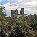 NZ2742 : Durham Cathedral from South Street by John Sutton