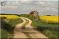 SK6673 : Bridleway to Crookford by Richard Croft