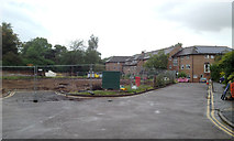 SP2865 : Site of Park View care home, off Priory Road, Warwick by Robin Stott