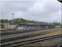 SX9193 : Exeter railway maintenance depot by David Smith