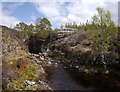 NH2514 : Rocky gorge on the Allt na Muic by Craig Wallace