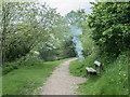 TQ2797 : Bin on Fire, Hadley Wood, Barnet, Hertfordshire by Christine Matthews